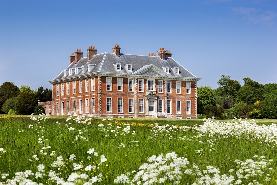 South front of Uppark House in West Sussex.