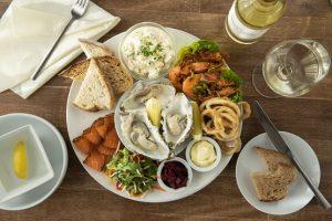 Morley's Bistro seafood platter