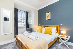 Morley's Bistro bedroom for guests to stay