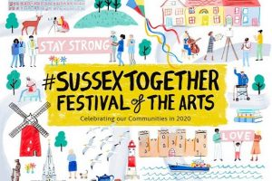 Sussex Together Festival of the Arts poster