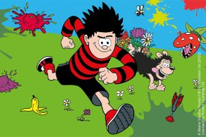 Wakehurst graphic for Beano Easter event