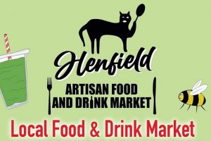 Henfield's food and drink market poster