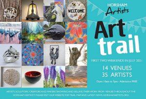 Horsham art trail graphic
