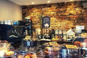 Relish Cafe in Henfield's front inside desk