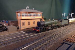 Bluebell Railway model railway set up